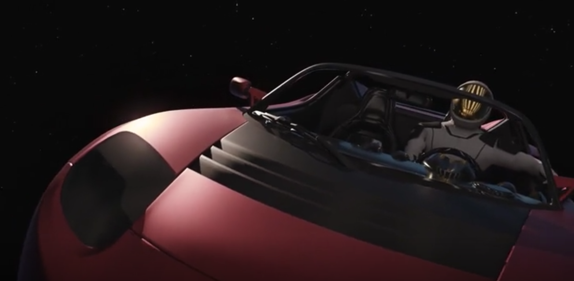 Tesla SpaceX Driver